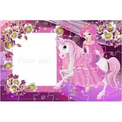 puzzle-printesa-si-ponei-personalizat